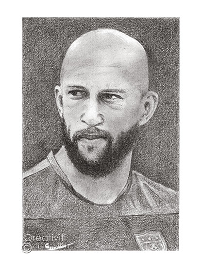 Tim Howard portré